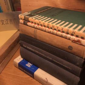 (7册)德文、俄文原版 Lev Landau - Lifschitz Textbook of Theoretical physics (朗道·利弗希茨理论物理教程)作者:Lev Landau,E.M. Lifschitz 出版社:Akademie (约3200页)