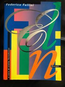 费里尼fellini 16开大画册,近450页,厚,三四百张大多黑白彩色剧照及电影构思时的图绘手稿。最后30页左右有水渍浸泡痕迹,不影响观看