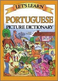 Lets Learn Portuguese Picture Dictionary 儿童葡萄牙语图文词典