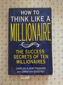 英文原版How to Think Like A Millionaire