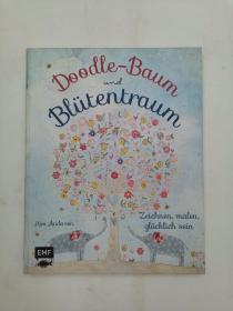 Doodle-Baum und Blütentraum: Zeichnen, malen, glücklich sein