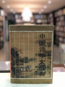 中国诗学大辞典(16开精装 全一册 Z)