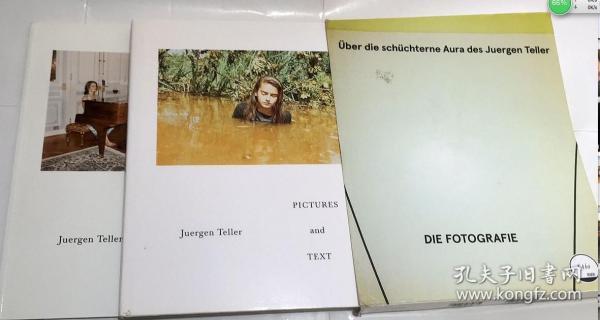 UNTERWEGS MIT JUERGEN TELLER   艺术摄影画册  精装