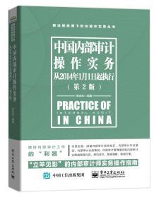 中国内部审计操作实务(从2014年1月1日起执行)(第2版)