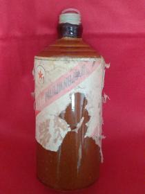 1987年茅浆窖老酒瓶一个