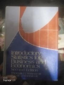 Introductory Statistics for Business and Economics  有划线