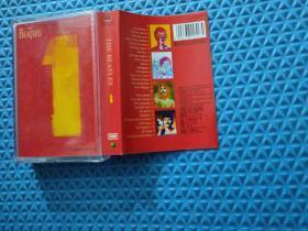 磁带:THE BEATLES 1 披头士(带盒内全新)