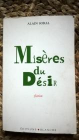 法文原版 Misères du Désir