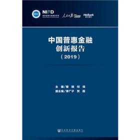 中国普惠金融创新报告(2019)