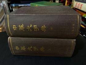 中华大字典(上下)