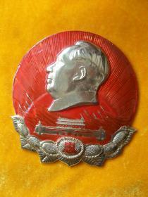 毛主席像章(大型)