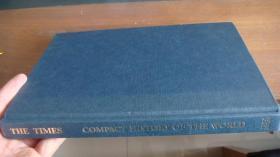 The Times Compact History of the World and Atlas of the World 【泰晤士世界历史】精装大开本,铜版印刷 布面精装12开 全铜版纸 彩印