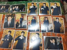 著名歌星,张国荣彩色照片,总计138张合售2888
