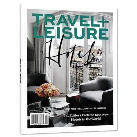 英文版 TRAVEL+LEISURE漫旅杂志 2019年 3月号  英文版
