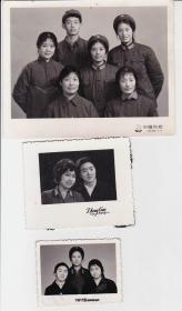 开国上校、原天津警备区副司令员马青山亲属照片六张