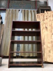 老楠木小书架,做工精细,皮壳老辣,会所书房摆设…高81厘米,宽55厘米,厚35厘米