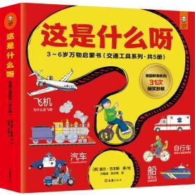 这是什么呀·3~6岁万物启蒙书(交通工具系列,共5册;美国教育机构31次颁奖致敬)