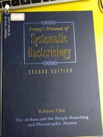 Bergeys Manual? Of Systematic Bacteriology: Volume ;1   《221》》大16开