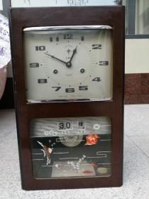 北极星牌老式挂钟,可正常走时、报时