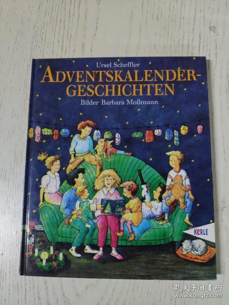 adventskalender-geschichten(德语儿童绘本:冒险历法)