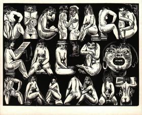 Richard Kaljo藏书票原作1