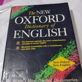 The New Oxford Dictionary of English(First Edition)新牛津英语词典(第1版 英语原版 精装本)