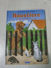 haustiere unsere besten freunde(德语原版儿童绘本:宠物  我们最好的朋友)