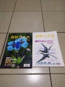 森林与人类杂志2016.1.2期合售品图细鉴
