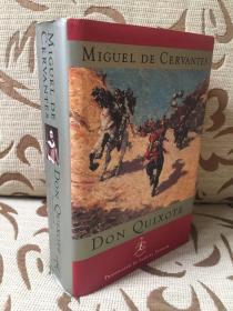 Don Quixote by Miguel de Cervantes -- 塞万提斯 《堂吉诃德》 Samuel Putman 经典英译 Modern Library 出品 精装厚本