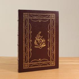 Easton Press Alices Adventures in Wonderland 爱丽丝漫游奇境 真皮装订  John Tenniel插图 全新 木版画 幻想文学 手感极佳。丝绸书签 24k刷金
