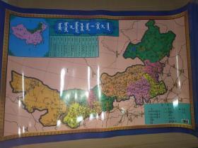 内蒙古自治区地图 蒙文、内蒙古地图 蒙文