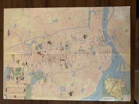 福州交通旅游图   城市老旧差旅地图