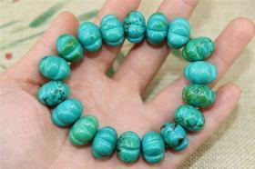 旧藏一条绿松石手链有优化
