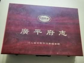 广平府志  宣纸线装全25册  带手提箱