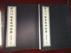 开门八极拳练功秘籍 上下册 附2教学盘