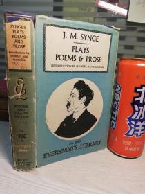 1958年  J.M. SYNGE PLAYS POEMS AND PROSE 人人文库