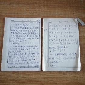 唐惠庄太子陵考古现场发掘记录总结报告原稿手稿