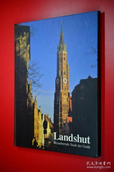 Landshut 德国圣马丁大教堂 德文原版 大16开硬精装
