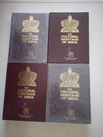 THE CULTURAL HERITAGE OF INDIA【全新未拆封】印度文化遗产第一 二 三 六卷【4本合售】
