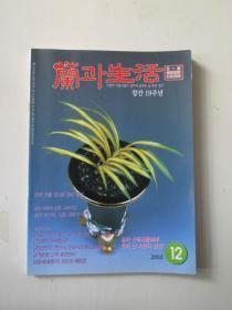 原版韩语杂志(有关兰花)