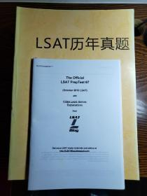 LSAT (美国法学院入学考试)历年真题汇编
