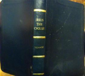 英文原版         The Christ       (皮精装烫金版)