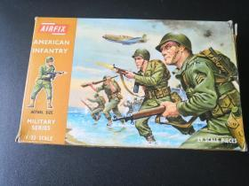 1:32比例airfix美军兵人