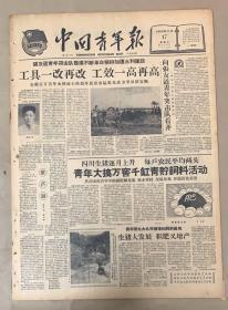 中国青年报 1959年11月17日 1-四川生猪逐月上升 每户农民平均两头 20元