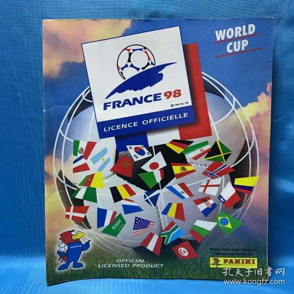 WORLD CUP FRANCE98 (1994 ISL TM) 法国世界杯(98 ISL TM)