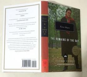 The Remains of the Day 长日留痕 英文原版文学小说  精装本 2017诺贝尔文学奖得主作品
