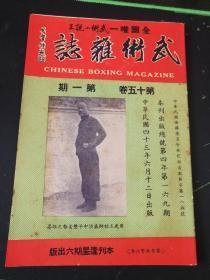 武术杂志:武术小说王  第十五卷  第一期