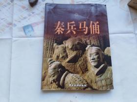 秦兵马俑 16开画册,目录前面有两页有些粘连没揭开。中文版,2009年一版一印