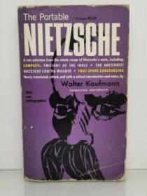 尼采精选与研究 The Portable Nietzsche (哲学家)英文原版书