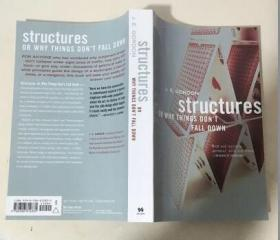 Structures:Or Why Things Don't Fall Down  结构:或者为什么东西不会掉下来 英文原版  科学 建筑